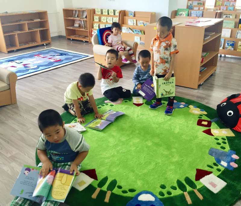 图书馆阅读课
