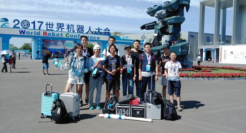 全国冠军!北京十二中机器人社团队员在2017年WRO全国机器人竞赛中再次夺冠