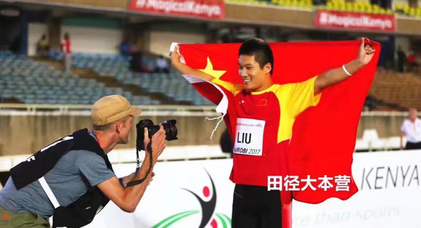 世界冠军!北京十二中少年标枪国手刘哲凯继获亚洲冠军后问鼎世界桂冠