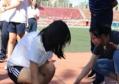 阳光运动、健康奔放~初二(4)班亲子体育活动